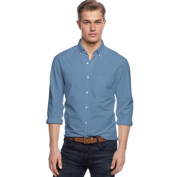0ec5f5f9 Lacoste Oxford Button Down Shirt